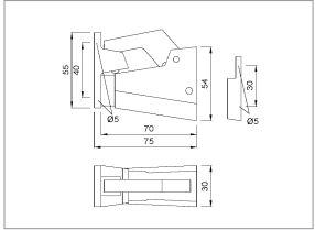 deurvastzetter